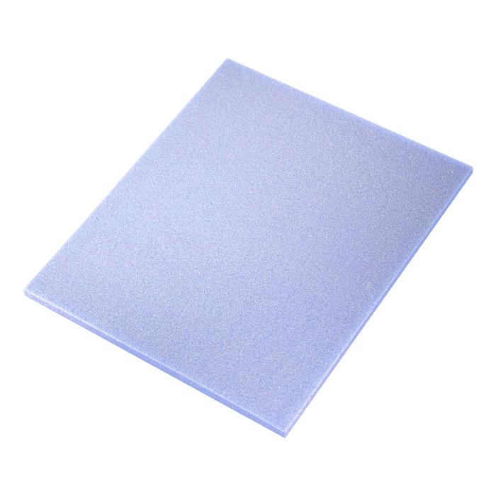 Sia 7972 Siasponge Односторонние цветные губки, 115мм. x 140мм. x 5мм., P320 #1500 MICROFINE, фиолетовая
