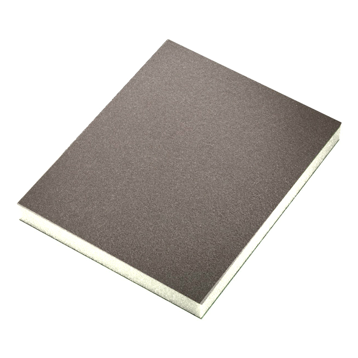 Sia 7983 Siasponge soft Губка двусторонняя 98мм. х 120мм. х 13мм., microfine, P1200, белая, в упаковке по 20шт.