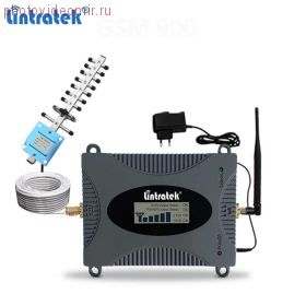 Усилитель сигнала сотовой связи репитер GSM1800/4G Lintratek