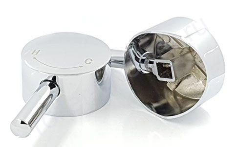 Ручка для смесителя душевой кабины для подачи воды ST05 (хром, металл)