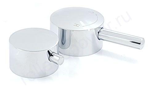 Комплект ручек (для подачи воды и переключения режимов)SKT06 (хром, металл)