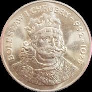 50 злотых Польша 1980 - Князь Болеслав I Храбрый (Bolesław I Chrobry) 992-1025