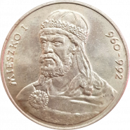 50 злотых Польша 1979 - Князь Мешко I (Mieszko I) 960 —992