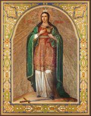 Икона Варвара Илиопольская святая