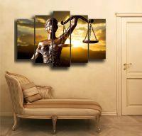 Модульная картина Фемида - богиня правосудия