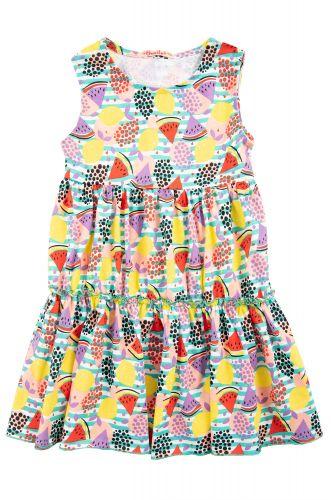 """Платье на девочек 2-5 лет Bonito kids """"Арбузик"""" цветное"""