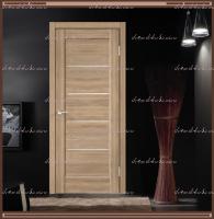 Межкомнатная дверь PREMIER 1  Дуб европейский, стекло - Мателюкс :