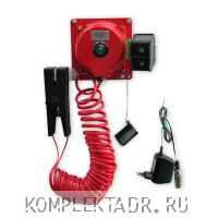 Фото - устройство заземления автоцистерн УЗА-4А-01
