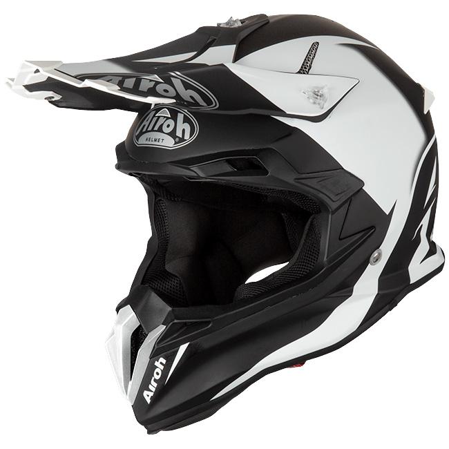 Airoh Terminator Open Vision Slider Black Matt шлем внедорожный