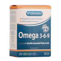 VPlab Омега 3-6-9 Omega 3-6-9, 60 капс