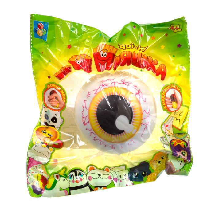 1toy игрушка-антистресс мммняшка squishy (сквиши), глаза 35 гр.