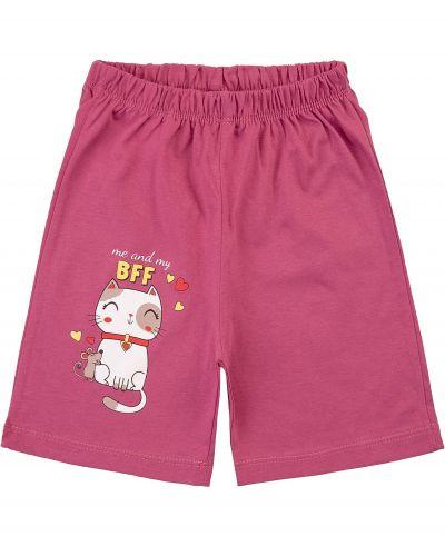 Шорты для девочек 1-5 лет Bonito kids фиолетовые