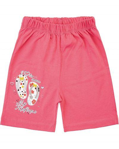 Шорты для девочек 1-5 лет Bonito kids светло-малиновые