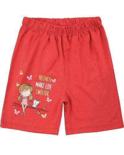 Шорты для девочек 1-5 лет Bonito kids красные