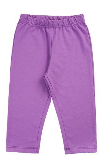 Однотонные бриджи для девочек 3-12 лет Bonito kids фиолетовые
