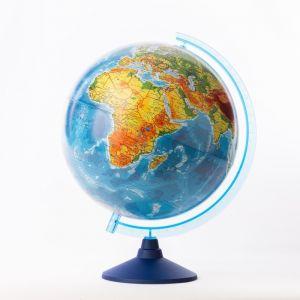 Глoбус физико-политический «Классик Евро», диаметр 320 мм, с подсветкой от батареек