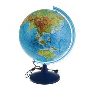 Глoбус физический «Классик Евро», диаметр 400 мм, с подсветкой