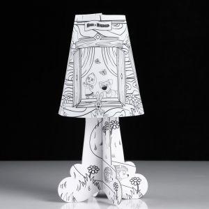 """Светильник-раскраска Фотон, """"Маша и Медведь"""", DNM-07 4855354"""