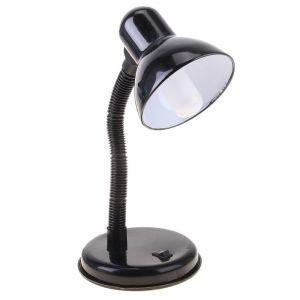 Настольная лампа с кнопкой «Ночь», чёрная