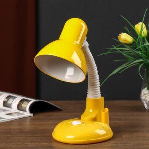 Светильник настольный UT-221 E27 40Вт на подставке желтый 27,5х37х14 см 4810456