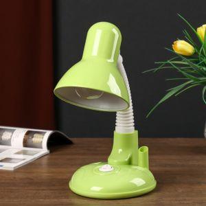 Светильник настольный UT-221 E27 40Вт на подставке зеленый 27,5х37х14 см 4810457