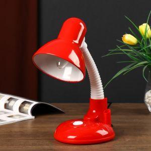 Светильник настольный UT-221 E27 40Вт на подставке красный 27,5х37х14 см 4810455