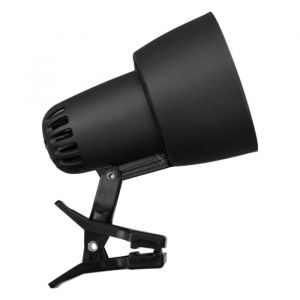 Светильник настольный на прищепке KT034В 1 лампа Е27 60Вт  черный 2687472