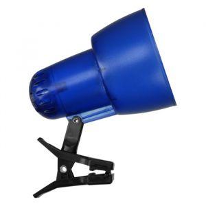 Светильник настольный на прищепке KT034В 1 лампа Е27 60Вт прозр.синий 2687471