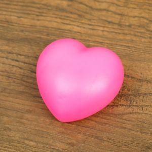 """Ночник пластик """"Сердце"""" 1Вт RGB МИКС 3х6х6,5 см.   4301208"""
