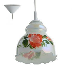Светильник  Елена 1 лампа E27 60 Вт мол. (рис МИКС )  2773420