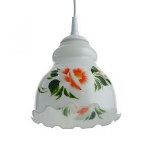 Светильник  Елена 1 лампа E27 60 Вт мол.(рис МИКС)   3729718