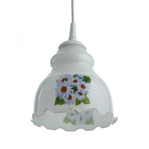 Светильник  Елена 1 лампа E27 60 ВтМикс белая 4455060