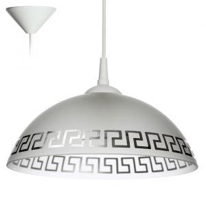 "Светильник  Колпак ""Арис"" 1 лампа E27 40Вт белый   д.300   2492593"