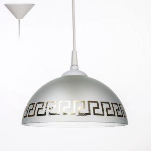 """Светильник """"Колпак"""" 006/1М б.с. мат. декор (Ф 250; Н 115) 3729716"""