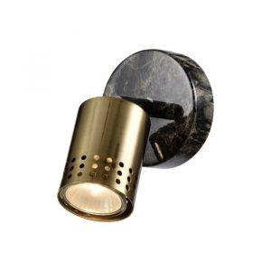 Бра спот 56941/1 1хGU10 5W мраморный/коричневый 9х14х14 см 5007165