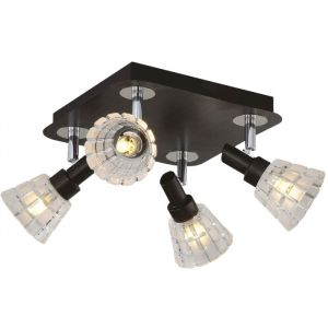Светильник Turn 4x40Вт G9 венге 22x22x12,5см 3870670