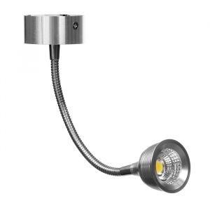 """Спот """"Ринг"""" LED 3Вт хром 10х6х14,5 см   3950824"""