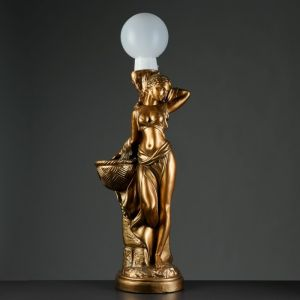"Лампа интерьерная ""Гречанка"" бронза, 104см   4376167"