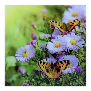 """Картина на стекле """"Бабочки"""""""