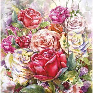 """Картина на подрамнике """"Акварель. Розы"""" 30*30 см   4194710"""