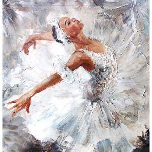 """Картина на подрамнике """"Балерина"""" 30*30 см   4194704"""