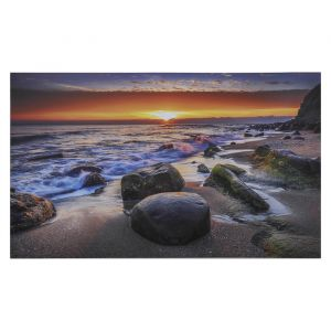 """Картина на холсте """"Морской закат"""" 60х100 см   4416297"""
