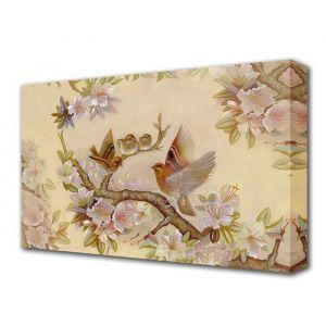 "Картина на холсте ""Птички на сакуре"" 60*100 см   3674919"