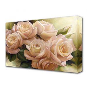 "Картина на холсте ""Цветы любви"" 60*100 см   3674917"