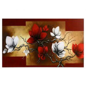 "Картина-холст на подрамнике ""Ветка с цветами"" 60х100 см   4720943"