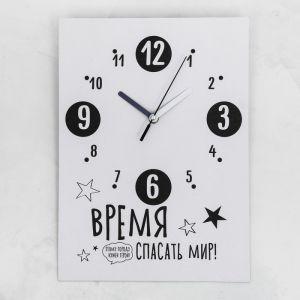 Часы настенные «Успеть всё», 24 ? 33 см, с декором 3868629