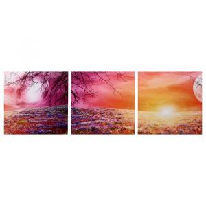 """Модульная картина """"Магическое поле"""" (3-35х35) 35х105 см 4983628"""