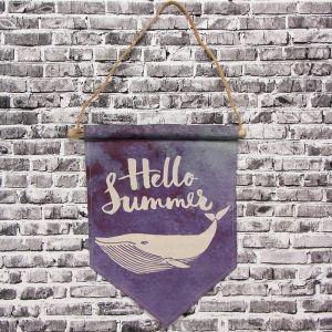 Панно подвесное Hello summer, рисунок Кит, 26х30 см 2723554