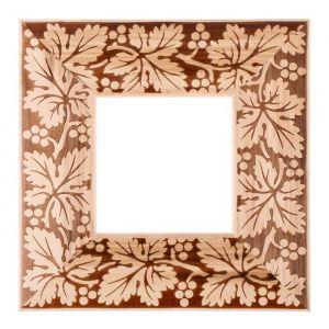 Рама для зеркал и картин дерево 10 х 10 х 5.0 см, липа, «Виноградная лоза»