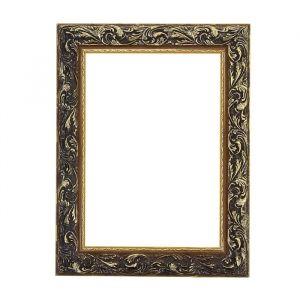 Рама для зеркал и картин из дерева, 21 х 29,7 х 4 см, золотая